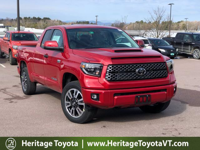 2020 Toyota Tundra SR5 TRD Sport Double Cab 6.5' Bed 5.7L South Burlington VT