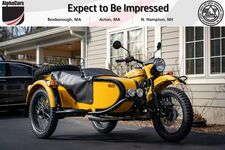 2020 Ural Gear Up Black & Yellow
