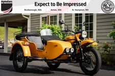 2020 Ural Gear Up Burnt Orange