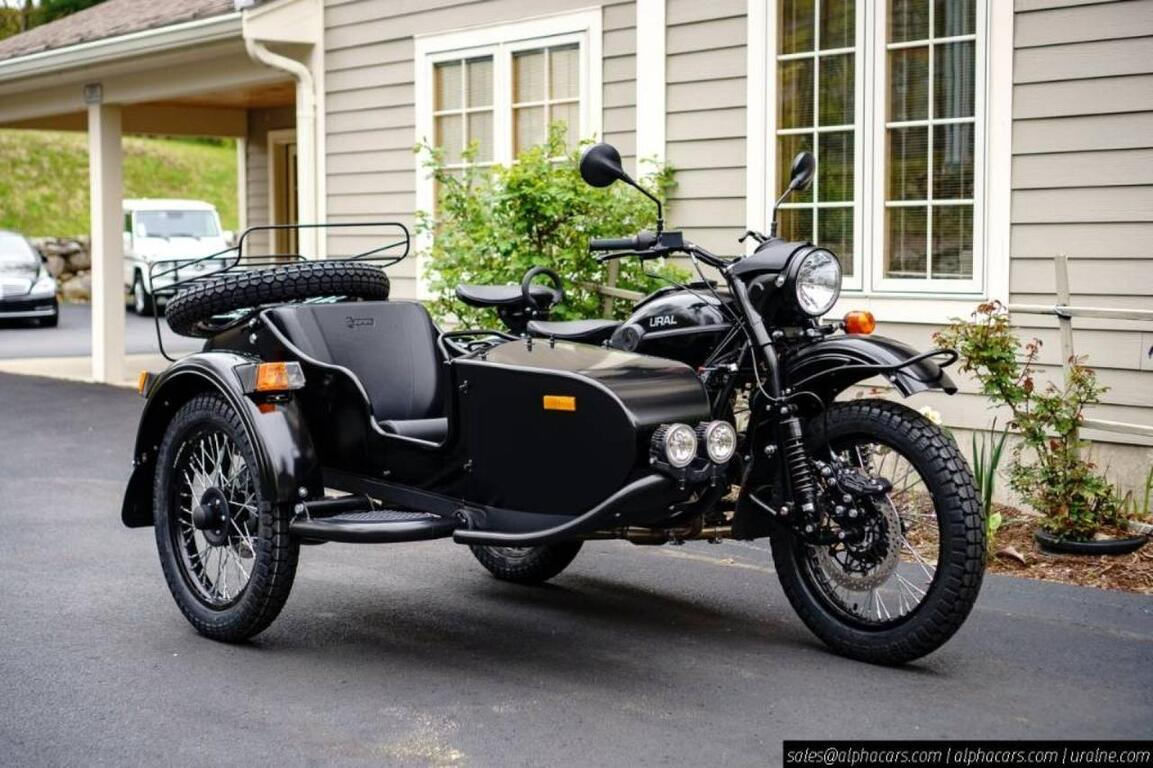2020 Ural Gear Up Flat Black Boxborough MA