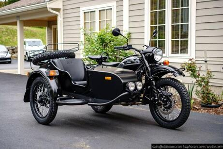 2020 Ural Gear Up Flat Black Boxborough MA