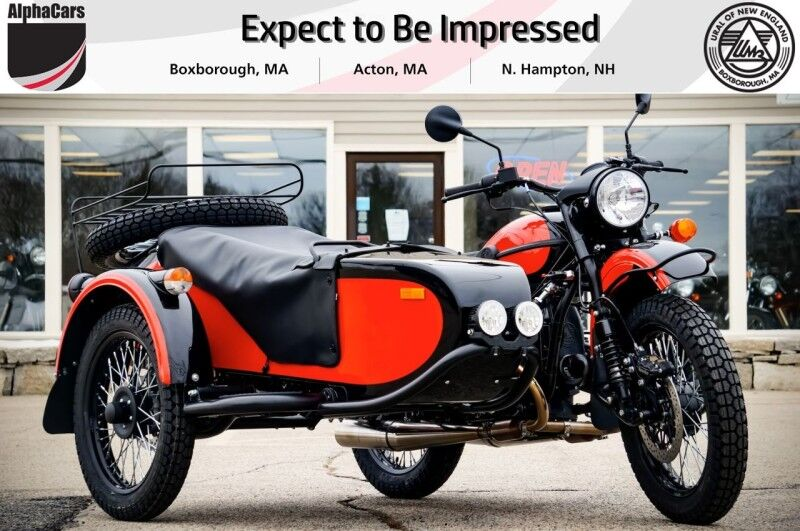 2020 Ural Gear Up Red & Black Boxborough MA
