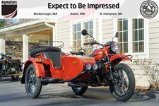2020 Ural Gear Up Terracotta