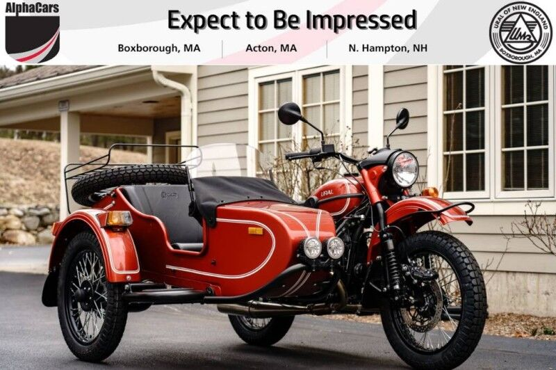 2020 Ural Gear Up Terracotta Custom Boxborough MA