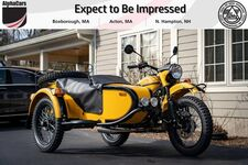 2020 Ural Gear Up Yellow/Black