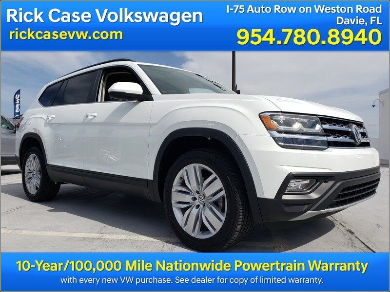 2020 Volkswagen Atlas 3.6L V6 SE w/Technology Davie FL
