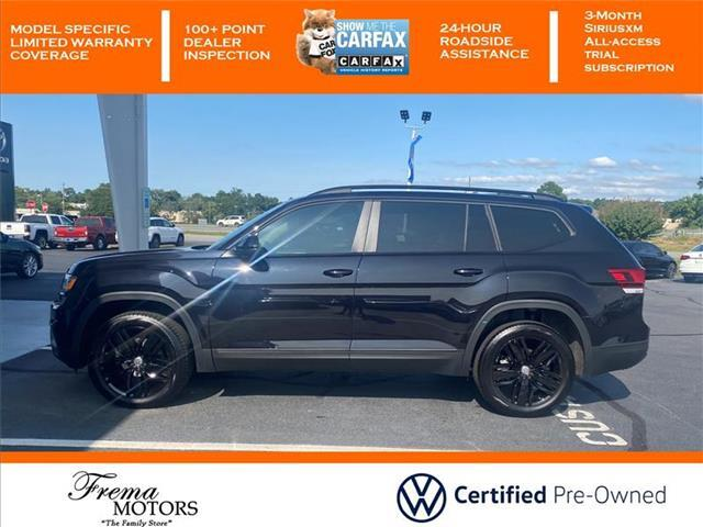2020 Volkswagen Atlas 3.6L V6 SE w/Technology Front-wheel Drive Goldsboro NC