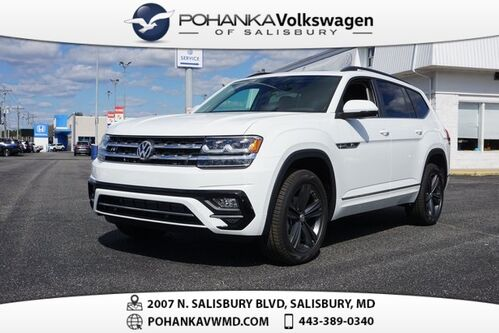2020_Volkswagen_Atlas_3.6L V6 SE w/Technology R-Line 4Motion_ Salisbury MD