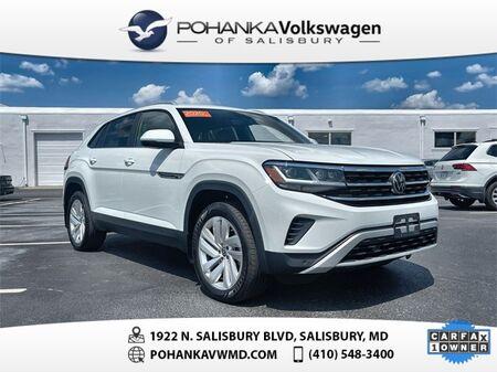 2020_Volkswagen_Atlas Cross Sport_2.0T SE w/Technology 4 MOTION ** VW CERTIFIED **_ Salisbury MD