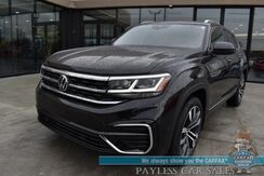 2020_Volkswagen_Atlas Cross Sport_SEL R-Line / AWD / Auto Start / Power & Heated Leather Seats / Panoramic Sunroof / Adaptive Cruise Control / Lane Departure & Blind Spot Alert / Bluetooth / Back Up Camera / 22 MPG / 1-Owner_ Anchorage AK