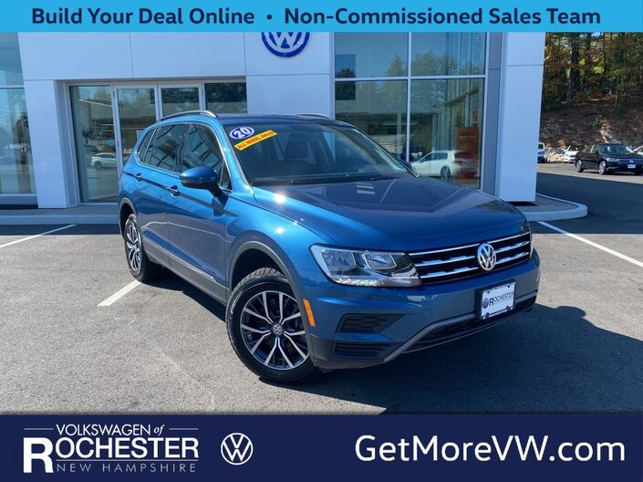 2020 Volkswagen Tiguan 2.0T SE 4Motion w/ Sunroof Rochester NH