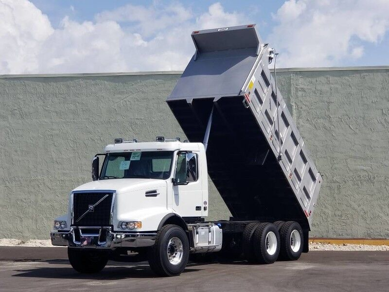 2020 Volvo VHD64B 16' Steel dump - *Ask us about our 72 month Lease option program - for as low as $1,999 per month – plus Title - Tax and Dealer Fees.