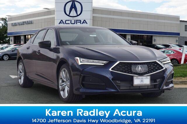 2021 Acura TLX Technology Package Woodbridge VA