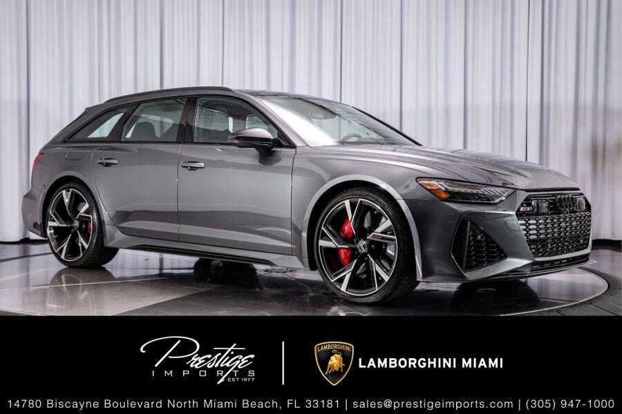 2021_Audi_RS 6 Avant__ North Miami FL