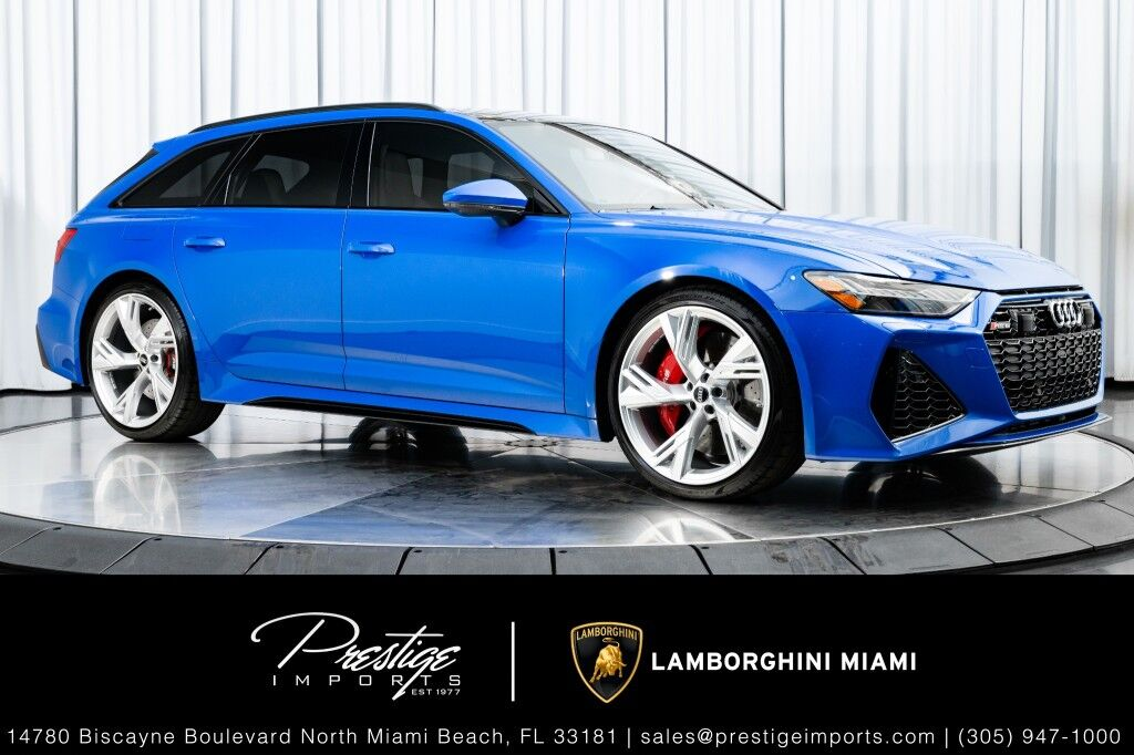 2021_Audi_RS 6 Avant__ North Miami Beach FL