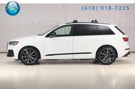 Audi SQ7 Quattro AWD Prestige BLACK OPTIC PKG 7-PASSENGER 2021