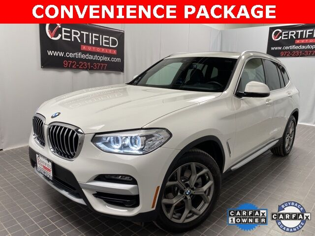 2021 BMW X3 sDrive30i CONVENIENCE PKG NAVIGATION PANORAMIC Dallas TX