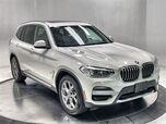 2021 BMW X3 sDrive30i X LINE,NAV,CAM,PANO,BLIND SPOT,19IN WHLS