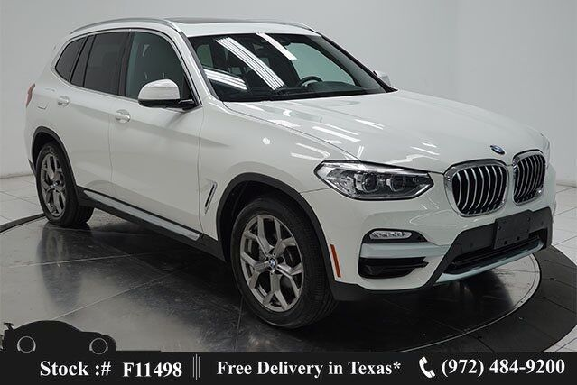 2021 BMW X3 xDrive30i X LINE,NAV,CAM,PANO,HTD STS,BLIND SPOT Plano TX