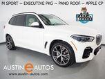 2021 BMW X5 xDrive40i AWD *M SPORT PKG, EXECUTIVE PKG, HEADS-UP DISPLAY, LIVE COCKPIT PRO, NAVIGATION, SAFETY ALERTS, BACKUP-CAMERA, PANORAMA MOONROOF, VERNASCA LEATHER, CLIMATE SEATS, BLUETOOTH, APPLE CARPLAY