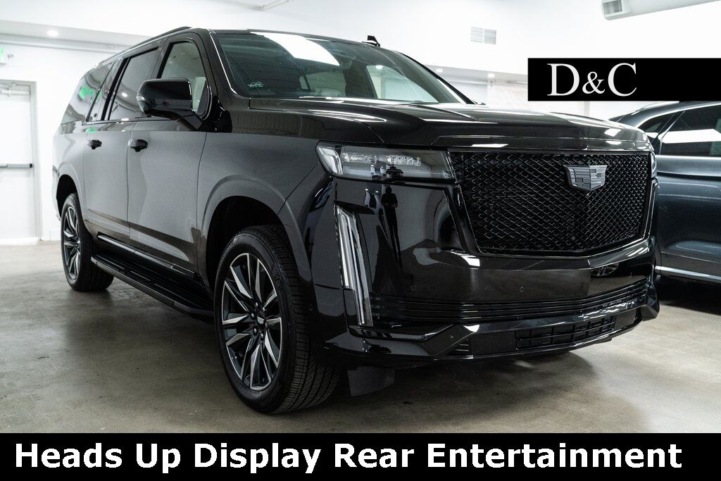 2021 Cadillac Escalade ESV Sport Heads Up Display Rear Entertainment Portland OR
