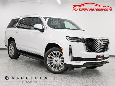 2021_Cadillac_Escalade Premium 600_No Waiting Rear Entertainment Pano Nav Back Up Camera Bucket Seats Fully Loaded_ Hickory Hills IL