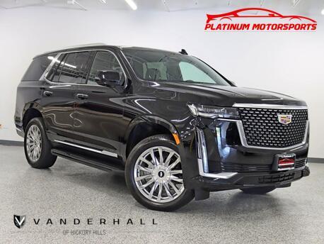 2021_Cadillac_Escalade Premium Luxury_1 Owner Pano Nav Back Up Camera Still Smells New_ Hickory Hills IL