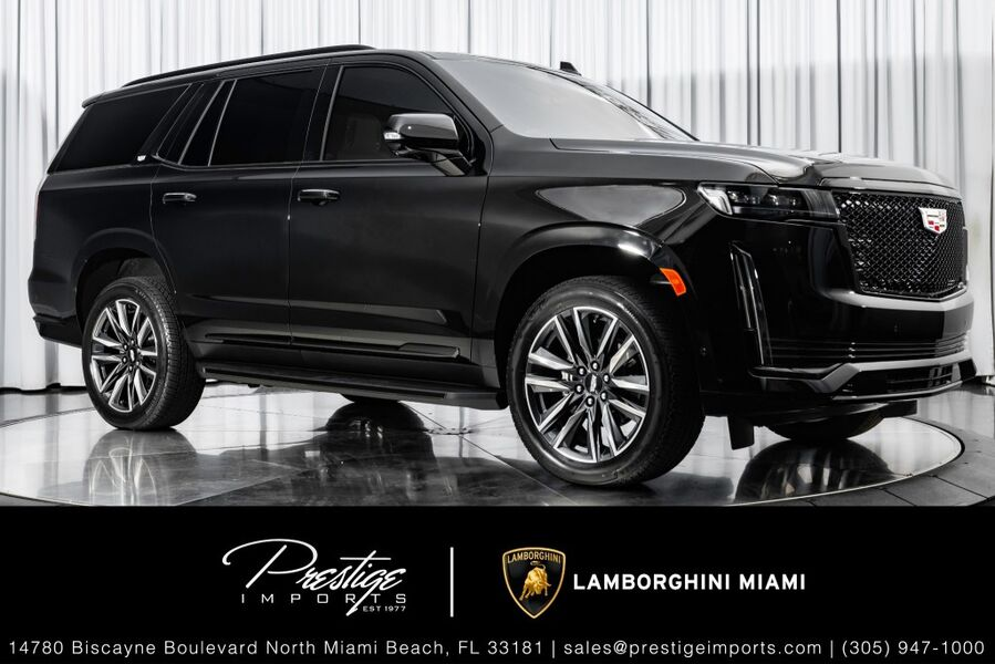 2021_Cadillac_Escalade_Sport_ North Miami FL