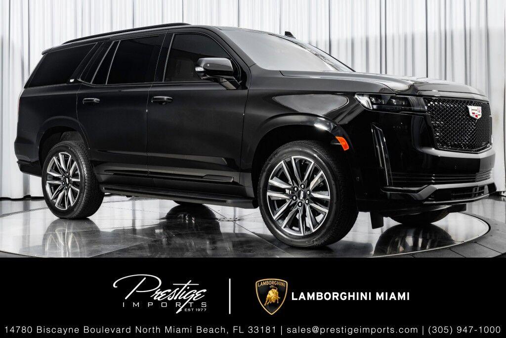 2021_Cadillac_Escalade_Sport_ North Miami Beach FL