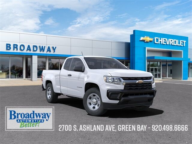 2021 Chevrolet Colorado Work Truck Green Bay WI