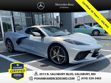 2021_Chevrolet_Corvette_Stingray 3LT Convertible ** Certified 10 Years / 100,000 **_ Salisbury MD