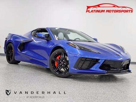 2021_Chevrolet_Corvette Z51_1 Owner Magnetic Ride Front Lift Targa GT2 Seats Loaded_ Hickory Hills IL
