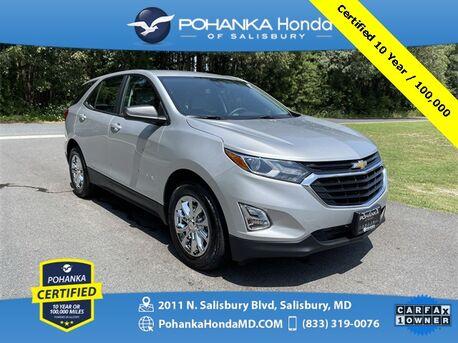 2021_Chevrolet_Equinox_LS ** Pohanka Certified 10 Year / 100,000 **_ Salisbury MD
