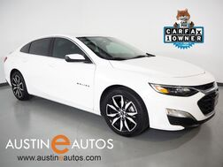 2021_Chevrolet_Malibu RS_*BACKUP-CAMERA, COLOR TOUCH SCREEN, MULTI-FUNCTION STEERING WHEEL, REMOTE KEYLESS ENRTY, PUSH BUTTON START/STOP, 18 INCH WHEELS, BLUETOOTH, APPLE CARPLAY_ Round Rock TX