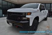 2021 Chevrolet Silverado 1500 Custom Trail Boss / Z71 Off-RD Pkg / 4X4 / Crew Cab / 5.3L V8 / Auto Start / Seats 6 / Apple Carplay & Android Auto / Bluetooth / Back Up Camera / Cruise Control / Bed Liner / Tow Pkg / Only 34 Miles / 1-Owner