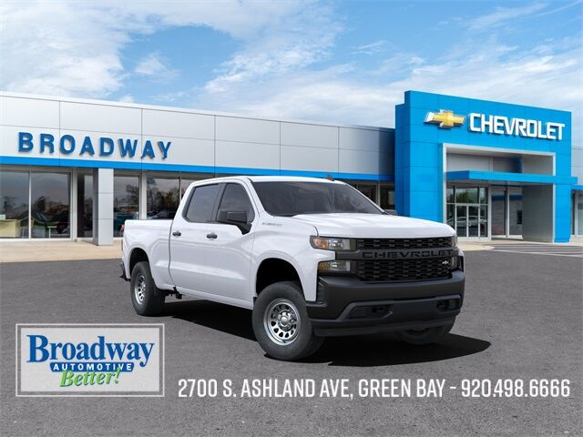 2021 Chevrolet Silverado 1500 WT Green Bay WI