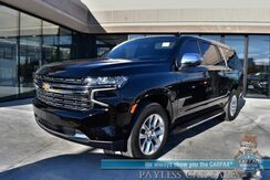 2021_Chevrolet_Suburban_Premier / 4X4 / Auto Start / Heated & Cooled Leather Seats / Heated Steering Wheel / Panoramic Sunroof / Navigation / Bose Speakers / HUD / Lane Departure & Blind Spot Alert / 3rd Row / Rear Captain Chairs / Seats 7 / Tow Pkg / 1-Owner_ Anchorage AK