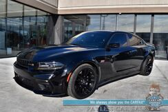 2021_Dodge_Charger_Scat Pack Widebody / Tech Pkg / Plus Group / 6.4L HEMI V8 / Auto Start / Heated Suede Seats / Heated Steering Wheel / Sunroof / Harman Kardon / Adaptive Cruise / Lane Departure & Blind Spot Alert / Only 2k Miles_ Anchorage AK