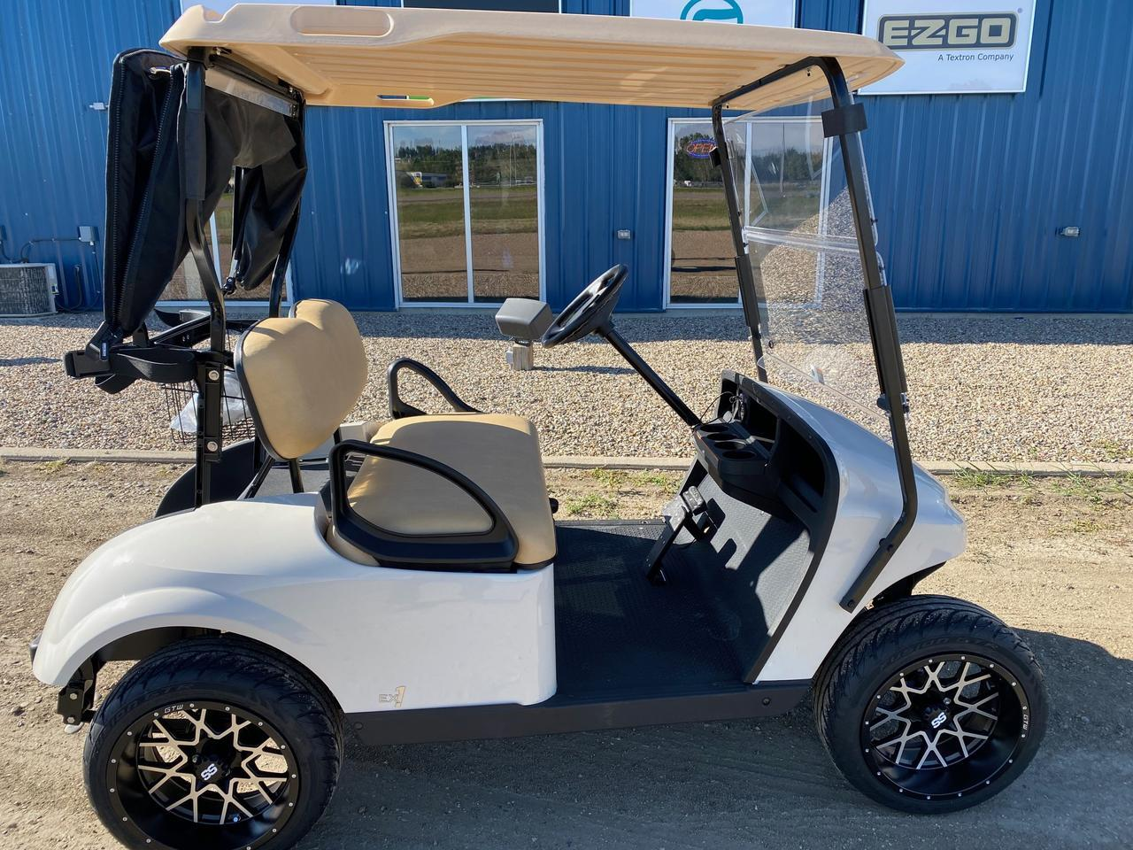 2021 EZGO TXT EX1 GAS CART