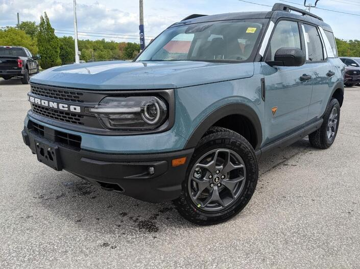 2021 Ford Bronco Sport Badlands Essex ON