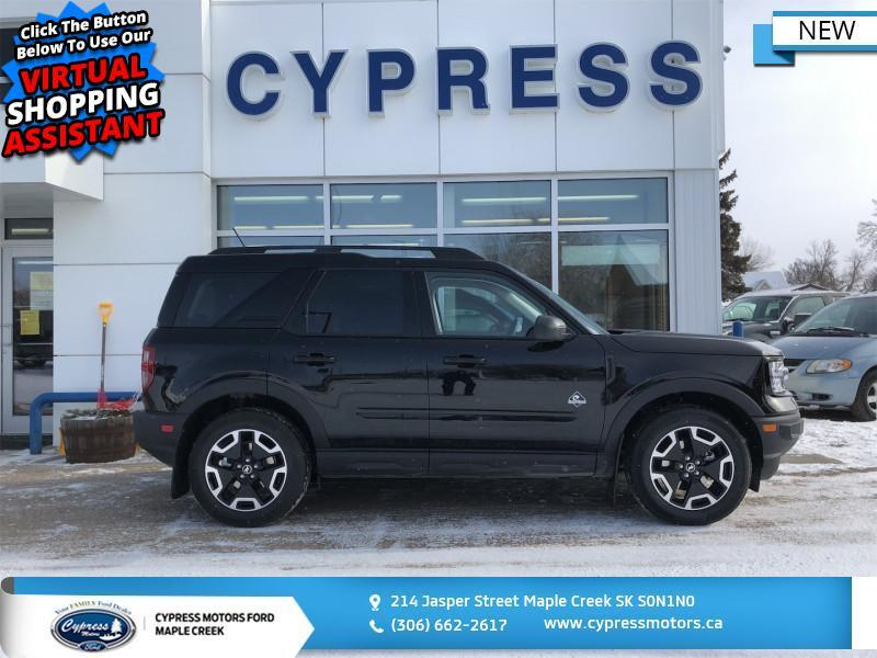 2021 Ford Bronco Sport Outer Banks 4x4  -  Heated Seats - $322 B/W Maple Creek SK