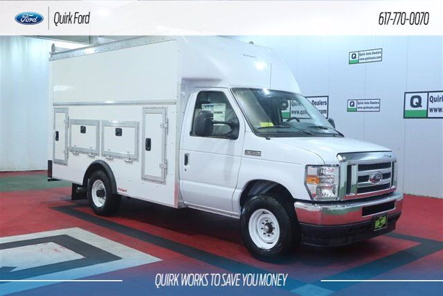 2021 Ford E-Series Cutaway ROCKPORT 12' WORKPORT BODY Quincy MA