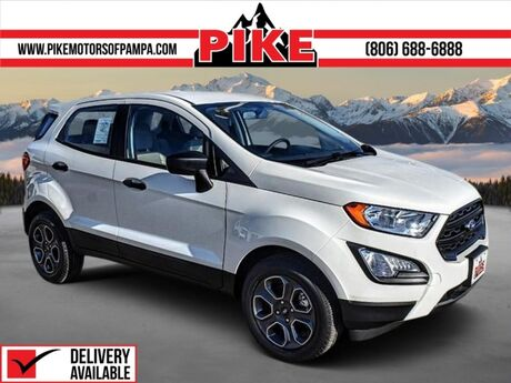 2021 Ford EcoSport S Pampa TX