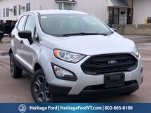 2021 Ford EcoSport S South Burlington VT