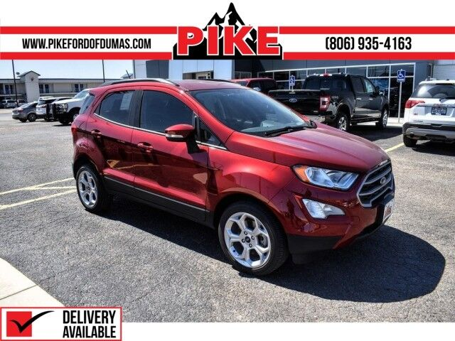 2021 Ford EcoSport SE Pampa TX