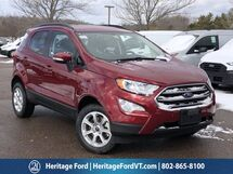 2021 Ford EcoSport SE South Burlington VT
