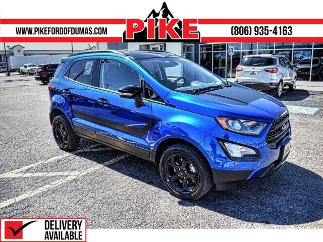 2021 Ford EcoSport SES Pampa TX
