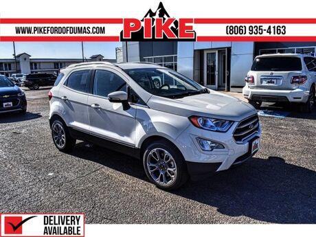 2021 Ford EcoSport Titanium Pampa TX