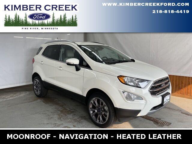 2021 Ford EcoSport Titanium Pine River MN
