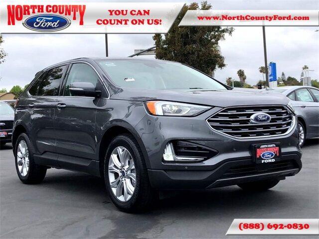 2021 Ford Edge Titanium San Diego County CA